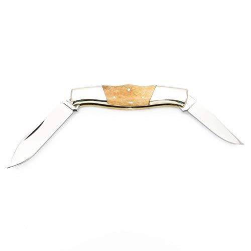 Satief Doppelklingen Klappmesser/Campingmesser Taschenmesser Angel Outdoor Messer