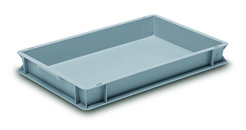 gcip-rako gc604075p Container, Rako-, PP, 600mm x 400mm x 75mm, grau