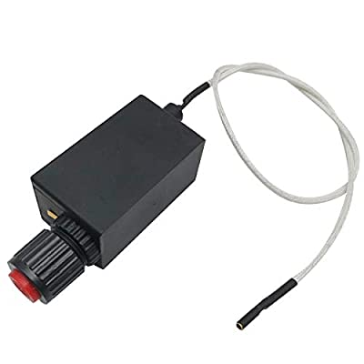 MENSI Electronic Push Button Pluse Igniter & Wire 500mm for Uniflame Patio Heaters, Gas Firepits