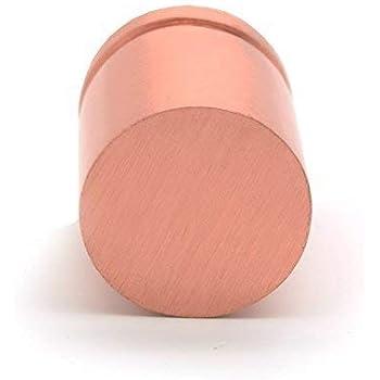 Ensemble de 6 Pushka Maison Cuivre Martel/é or Rose Porte Placard Boutons Compatible Toutes Portes /à 25mm /Épais