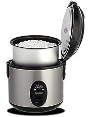Solis 978.08 rijstkoker, warmhoudfunctie, 4 kopjes, rijst, 0,8 L, Rice Cooker Compact Type 821