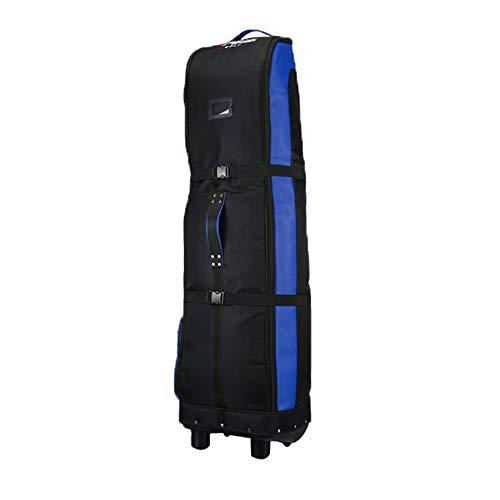 Golfschlägertasche, Golf-Luftfahrtpaket für Damen und Herren, Golftasche mit Griff + Rollbahn, Junior-Golfausrüstung, verdicktes festes Chassis