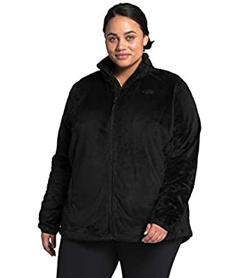 The North Face Women's Plus Osito Jacket, TNF Black, 1X