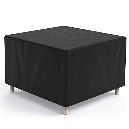 Garden Furniture Outdoor Covers, Patio Table Protective Covers - Heavy Duty Rip Proof Oxford Fabric Rectangular Waterproof Windproof & Anti-UV, Garden Table and Sofas Chairs