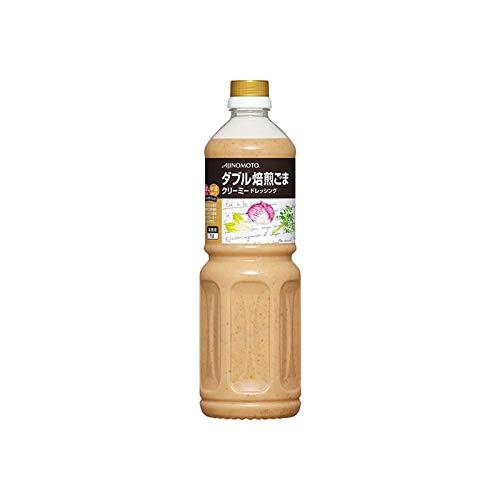 「味の素KKダブル焙煎ごまクリーミードレッシング」 1Lボトル×6
