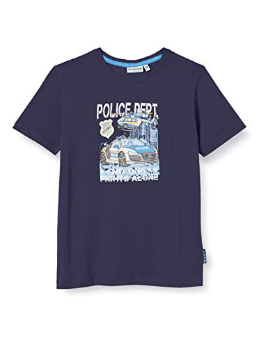 Salt & Pepper Jungen 03112151 T-Shirt, Blau (Navy 498), (Herstellergröße: 92/98)