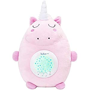 Baby Soother Toys Unicorn White Noise Sound Machine, Toddler Sleep Aid Night Light, Unique Baby Girl Gifts & Baby Boy Gifts, Baby Shower Gifts, Portable Baby Soother, New Baby Gift, Gender Neutral