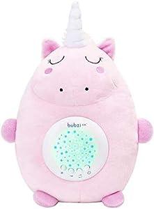 Peluche Para Bebé Unicornio - Máquina de Ruido Blanco – Luz quitamiedos infantil – Regalo para Bebé Niña - Regalo de Baby Shower - Calmante del Sueño – Regalo para Recién Nacido