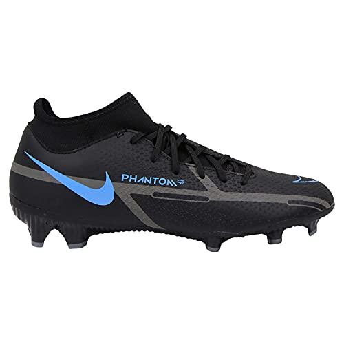 Nike Unisex Phantom GT2 Academy Dynamic Fit FG/MG Fussballschuh, Black/Black-Iron Grey, 43 EU