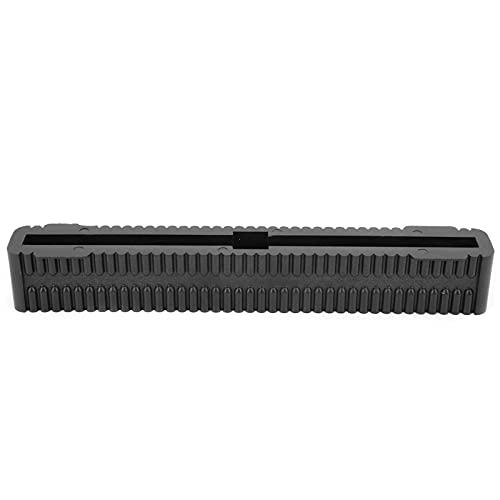 WNSC Accesorios de Surf, Paleta de Caja de Aletas de Tabla de Surf portátil Ligera con Material de PVC para Tablas de Remo(Negro)