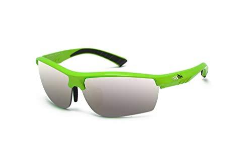 Zero RH+ Sunglasses Zero, Occhiali/Maschere Sportglasses End Unisex – Adulto, Grey Flash Silver + Clear, One