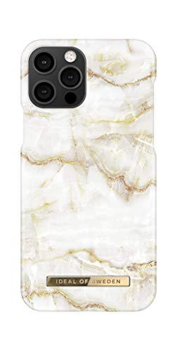 IDEAL OF SWEDEN Handyhülle für iPhone 12 und iPhone 12 Pro (Golden Pearl Marble)