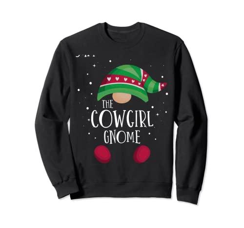 Pijama de Navidad a juego con el gnomo vaquero Pijama famili Sudadera