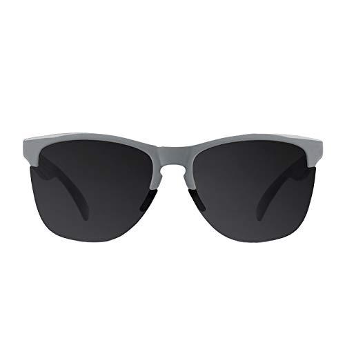 D. Franklin Unisex-Erwachsene Roosevelt Mid Sonnenbrille, Grau (Gris), 53
