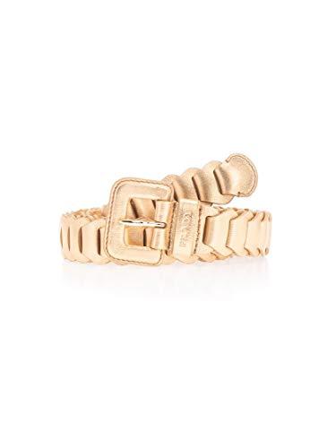 Luxury Fashion | Prada Dames 1CC4452C9BF0522 Goud Leer Riemen | Lente-zomer 20