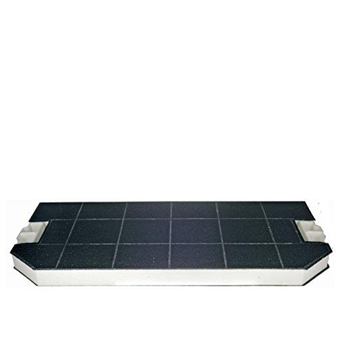 Filtre à charbon actif d'orgine - 487 x 230 mm - Pour hotte aspirante Bosch Siemens 460367