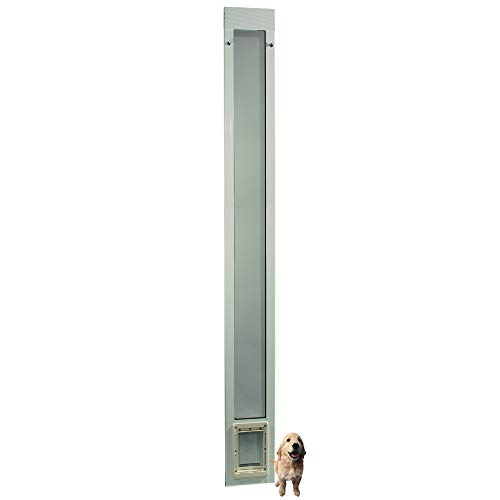 """Fast Fit Pet Patio Door 96"""" Small (White)"""