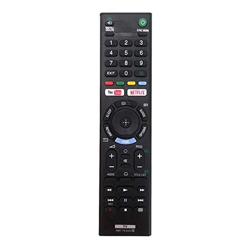 MYHGRC Sony -Fernbedienung für LCD-Fernseher, Sony RMT-TX300E Bravia für Sony Smart TV KDL-40WE663 KDL-40WE665 KDL-43WE754 KDL-49WE660 KDL-49WE755 – keine Einrichtung erforderlich