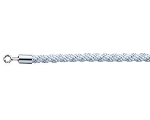 光 パーテーション用ロープ リングタイプ PRR25-3 シルバー