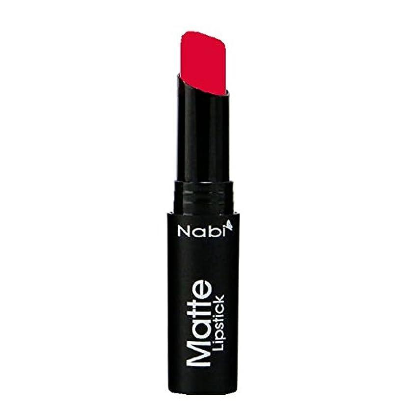 男性集計チャペル(6 Pack) Nabi Cosmetics Matte Lipstick - Matte Apple (並行輸入品)