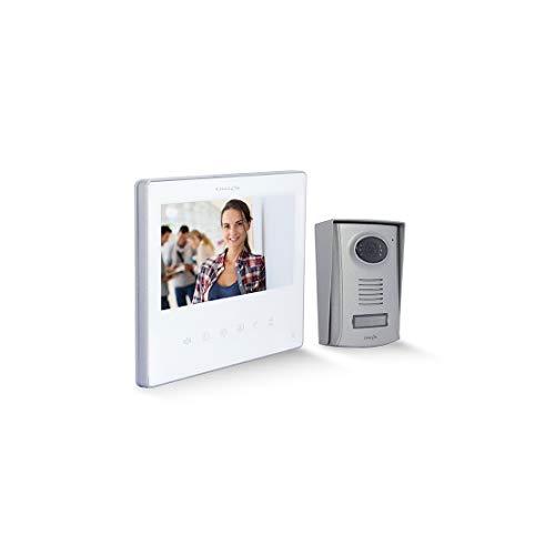 CHACON 34863 Videoportero 2 hilos 7' blanco Ultra Slim