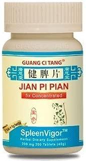Guang Ci Tang - Jian Pi Pian - SpleenVigor - 200 Mg 200 Tablets