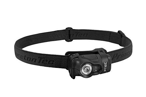 Princeton Tec Byte Tactical Stirnlampe, Unisex, Stirnlampe, BYT-TAC-BK, Schwarz