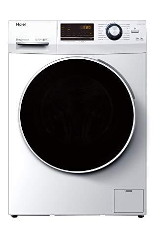 Haier HW80-B14636N Waschmaschine Frontlader / 8 kg / 1400 UpM/Direct Motion Motor (super leiser Direktantrieb) / Vollwasserschutz/ABT, weiß