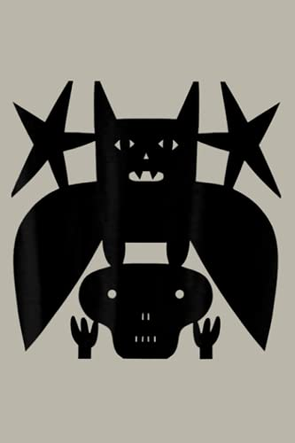 Spooky Halloween Skeleton Bat Paper Cutting By Jad Fair: notebook, notebook journal beautiful , simple, impressive,size 6x9 inches, 114 paperback pages