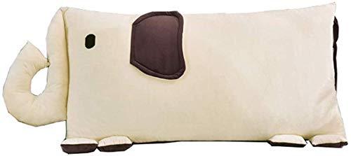 YLCJ Kussens nachtkastje brede rug eenvoudige hoofdeinde moderne cartoon zachte pakket sofa kussen verwijderbaar en wasbaar (Kleur: B, Afmetingen: 120 * 60 cm)