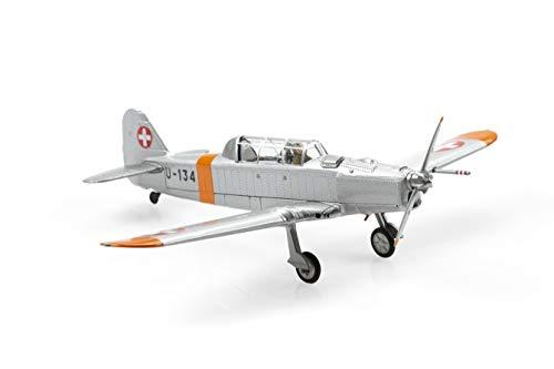 Arwci ACE-1/72 Pilatus P-2-06 U-134 Orange/ALU Dübendorf (1970) Die-Cast, Modelos de coleccionista....
