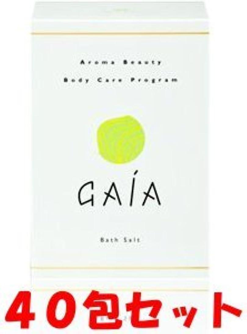対人議論する気候【40包セット】GAIA(ガイア)バスソルト 10包×4