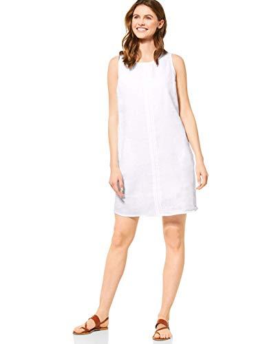 Cecil Damen 142592 Kleid, White, XX-Large