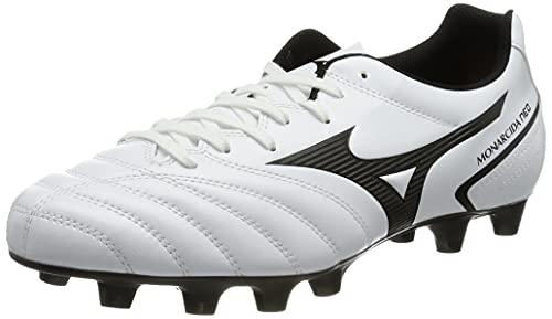 Mizuno Monarcida Ii Sel, Unisex Adults' Soccer, White Black, 6.5 UK (40 EU)