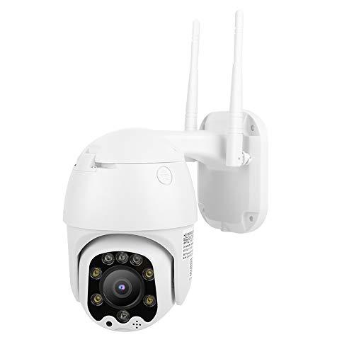 Tosuny Cámara de Seguridad 1080P HD Mini cámara CCTV con Zoom 5X IP66 Cámara Domo 4G a Prueba de Agua para Seguridad en el hogar, Compatible con intercomunicador de Voz bidireccional