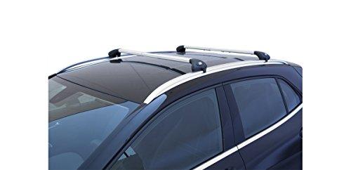 Barras portaequipajes para coche Viva 2,integradas, para Kadjar desde 2015en adelante (aluminio)