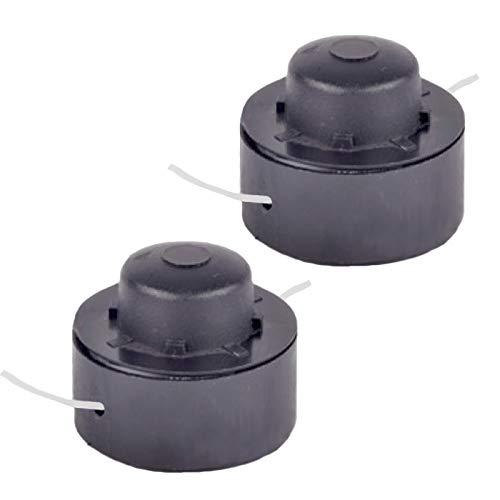 Spares2go Doppelschnur und Spule für CMI 350RT Trimmer, 1,3 mm, 2 Stück