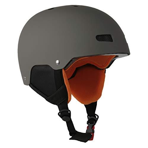 O'Neill Helmet Kids Moss Sunrise   Moos   Ski & Snowboard Helm   Hochwertige Qualität (Moos, S   48-54 cm)