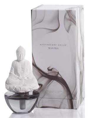 Aegean Teakwood Mantra Buddha Zodax Porcelain Diffuser