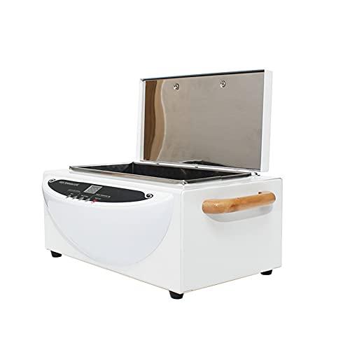 ZSH Gabinete de desinfección esterilizador de Herramientas de Toalla de manicura de Alta Temperatura, peluquería de salón de SPA de 1,5 l para Toallas, Tijeras, Pinzas