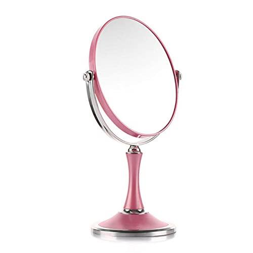 Lsdnlx Espejo para maquillarse,Espejo de Maquillaje LED Espejo de Pantalla táctil con luz LED Luz AjustableEspejos cosméticos de Escritorio de pie