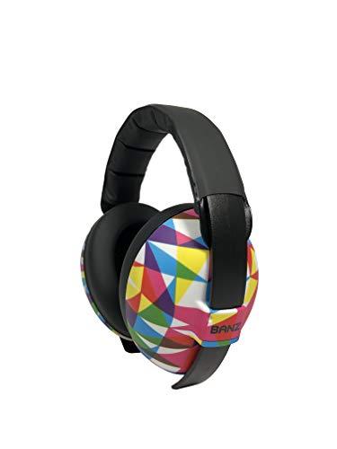 Banz Baby Gehörschutz Sound blockierender Ohrenschützer, Mehrfarbig, 3 Monate +