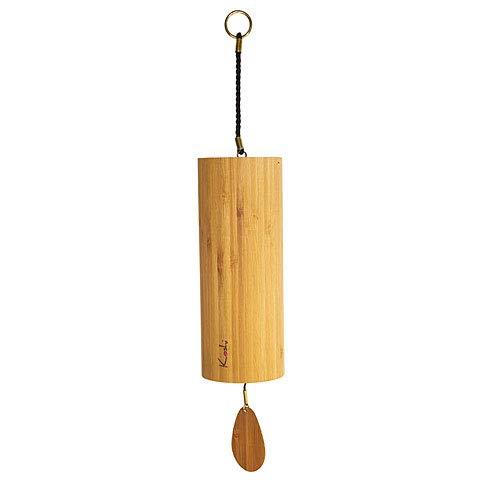 Koshi Bambus Windspiel mit Pyrenäenmotiv