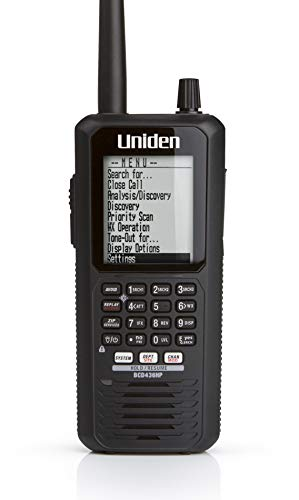 Uniden BCD436HP HomePatrol Series Digital Handheld Scanner. TrunkTracker V, Simple Programming, S.A.M.E. Emergency/Weather Alert, Covers USA and Canada