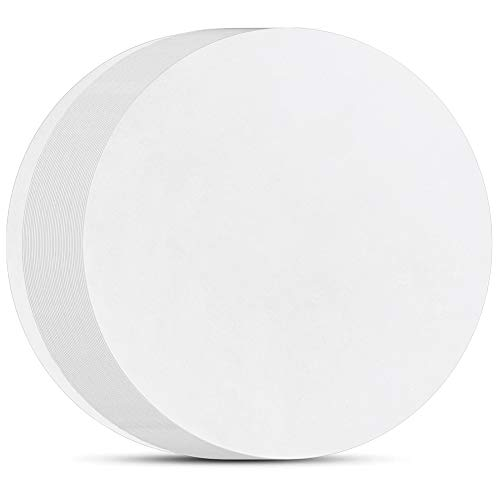 8 Inch Parchment Paper Rounds, Set of 200, Non Stick Baking Parchment Circles, Cake Parchment Rounds for Cake Pan, Springform Pan, Tortilla Press and so on(4.5/5.5/6/7/9/10/12in Available)