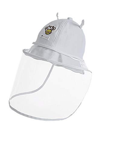 AQ1 Gorro Bebe protección Sol Tapa antisalpicaduras bebé Hombres y Mujeres bebé a Prueba de Polvo a Prueba de Polvo extraíble