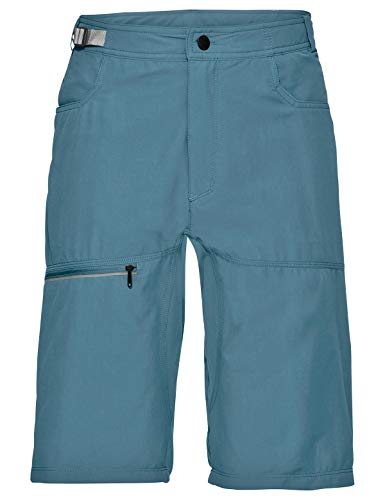 VAUDE Tekoa Short pour Homme XL Bleu Gris.