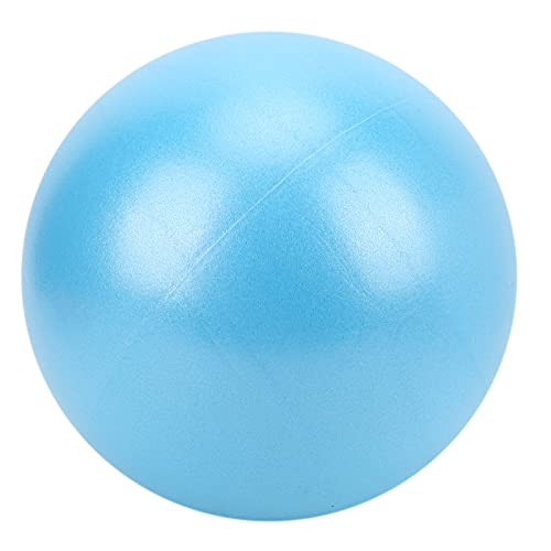 VGEBY Pelota de Yoga para Trabajo Pesado de 25 cm, Pelota de Fitness Inflable Pelota de Gimnasia a Prueba de explosiones para el Estiramiento del Entrenamiento del núcleo del Equilibrio(Azul)
