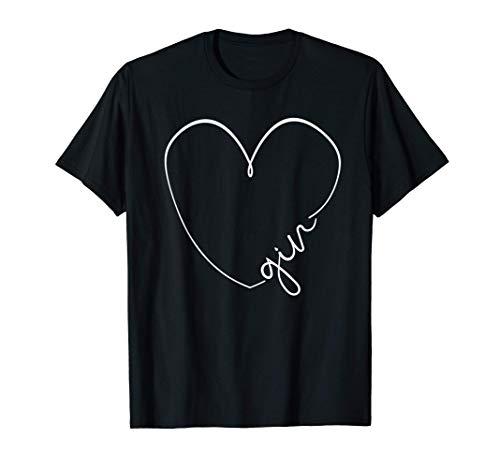 GIN Geschenk | Gin Tonic Alkohol Geschenkidee | GIN T-Shirt
