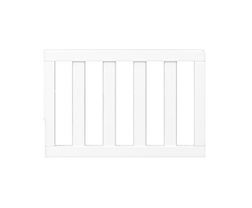 Graco Toddler Guardrail Safety Guard Rail for Convertible Crib Toddler Bed, White
